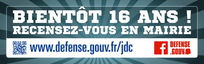 Bientôt 16 ans recensez-vous en mairie - Journée défense et citoyenneté