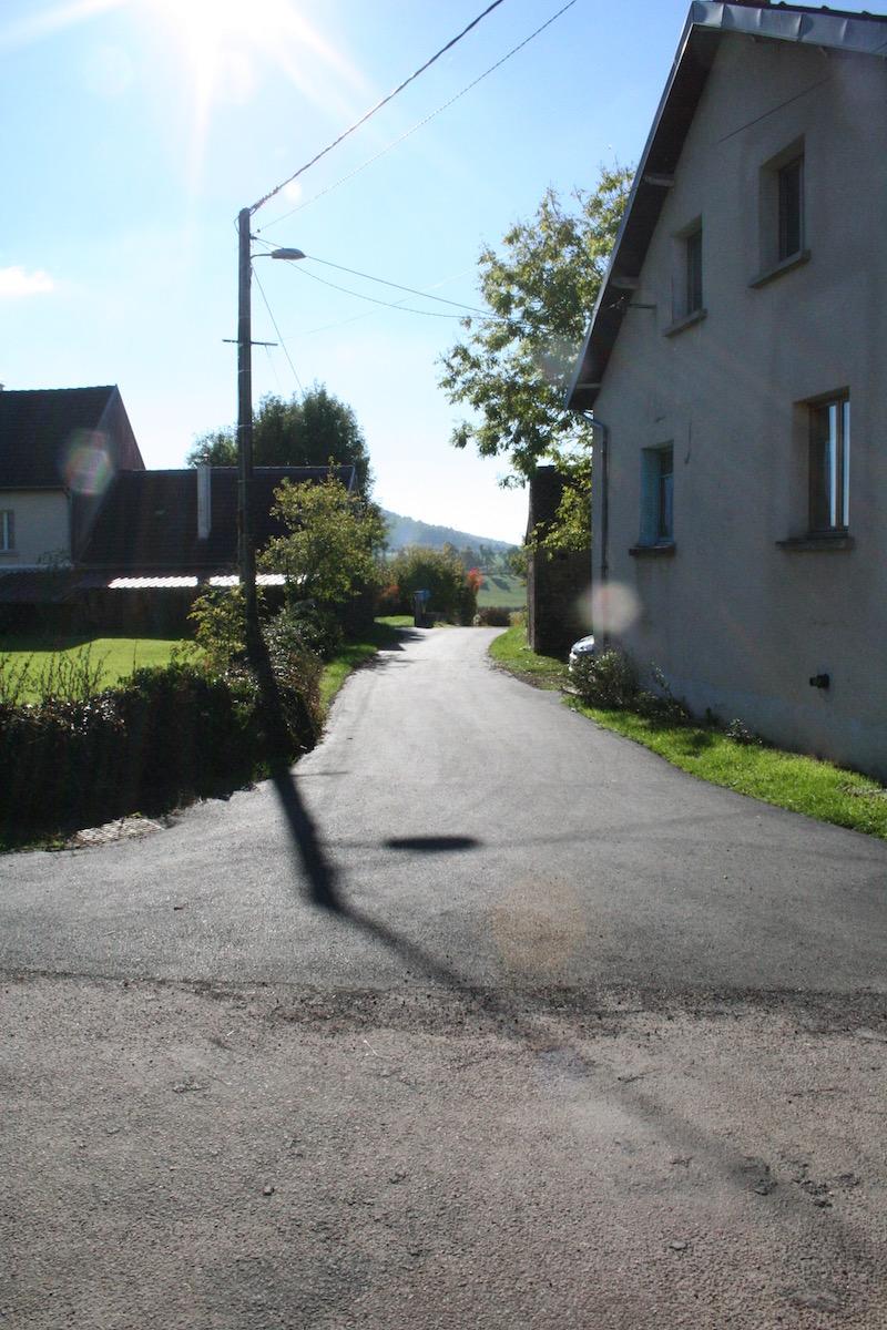 Travaux de voirie- Rue du Castel - Savigny-sous-Mâlain