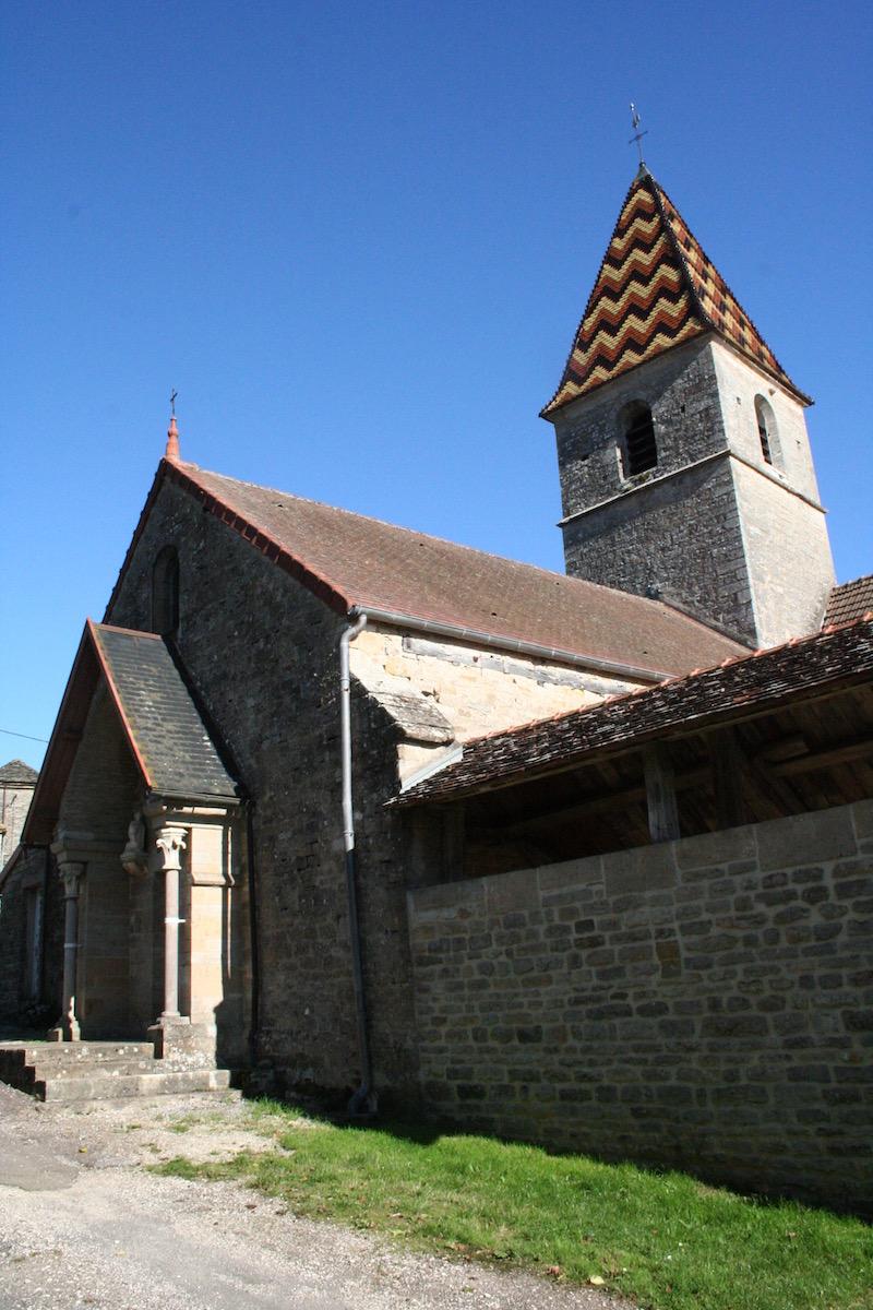 Mise en valeur de l'église - Savigny-sous-Mâlain