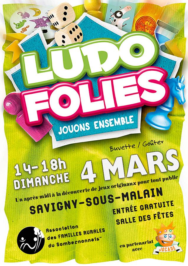 Les Ludofolies à Savigny-sous-Malain le 4 mars 2018