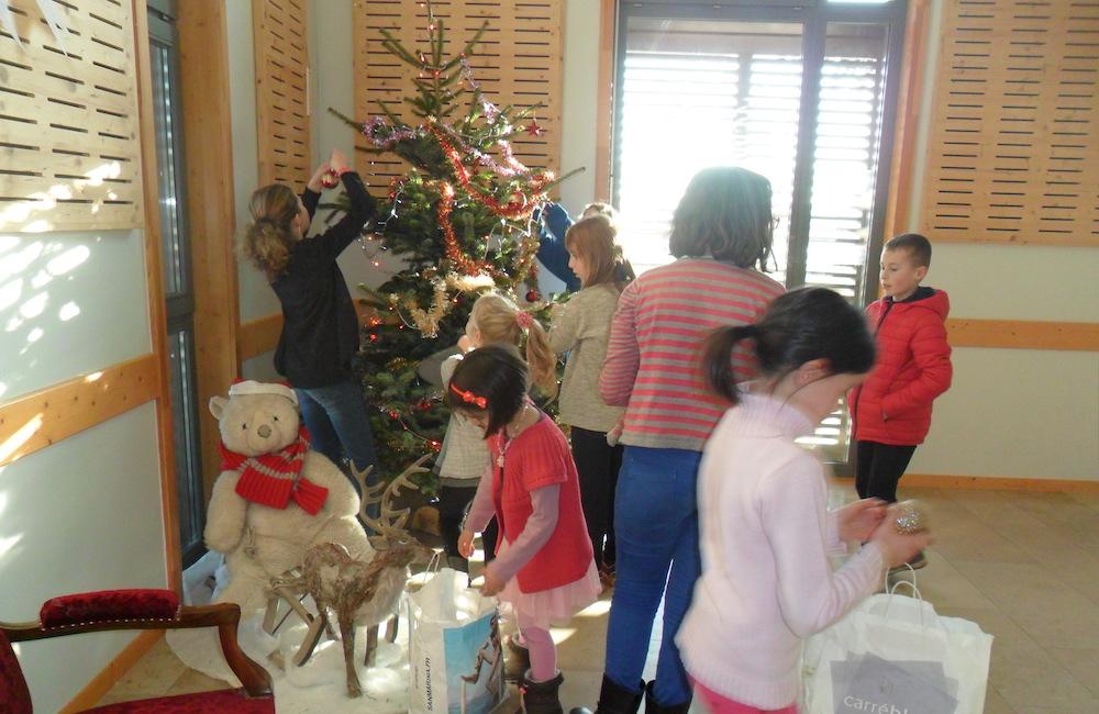 Arbre de Noël du 17 décembre 2016 à Savigny-sous-Mâlain