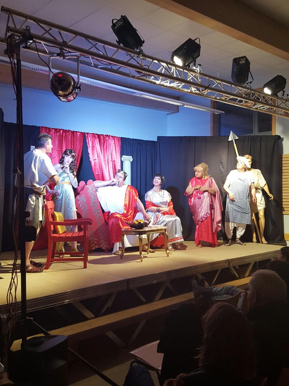 Pièce de théâtre du 19 novembre 2016 à Savigny-sous-Mâlain