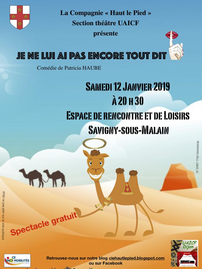 soirée théâtre 2018